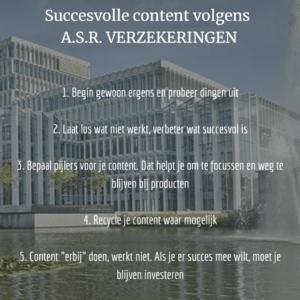 Succesvolle content asr