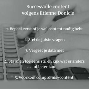succesvolle content